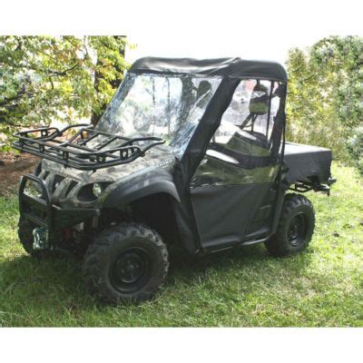 z and w off road : yamaha rhino cab enclosure soft top