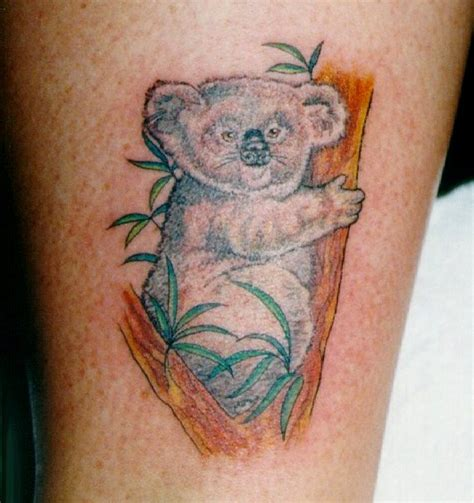 tattoos by drew winner little koala
