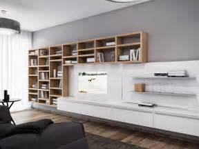 Wall Unit Ideas by White Entertainment Wall Unit Interior Design Ideas