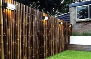 sichtschutz im garten ideen 34 ideen f 252 r sichtschutz im garten mit bambus