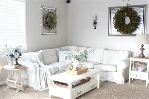 the glam farmhouse living room tour the glam farmhouse