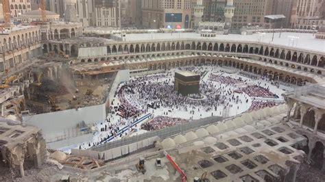 new design masjid al haram exclusive masjid al haram expansion 2013 footage from
