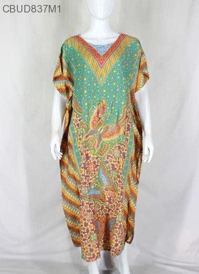 Longdress Batik Jumbo Baju Santai Wanita Jumbo Perumahan Daster Murah daster jumbo kelelawar motif kupu hap daster longdress