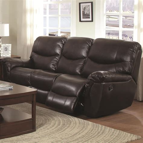 brown leather reclining sectional steal a sofa furniture chocolate brown reclining sofa infosofa co