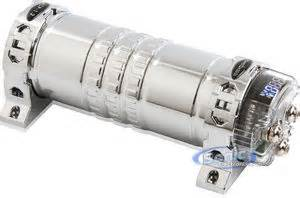 xtreme audio capacitor powerbass xcp 1 2 xcp1 2 1 2 farad digital capacitor with blue
