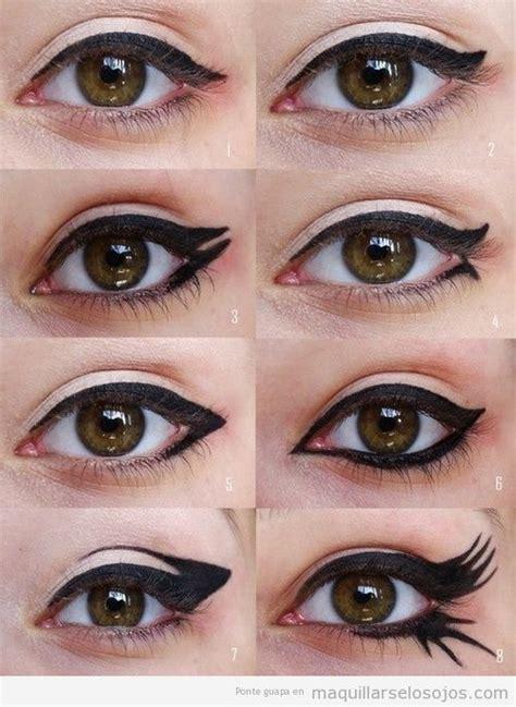 eyeliner tutorial round eyes dibujar archivos maquillarse los ojos