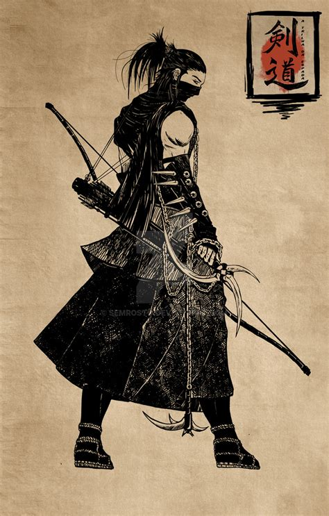 the shinobi by semrosto on deviantart