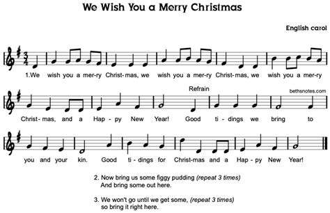 merry christmas beths notes