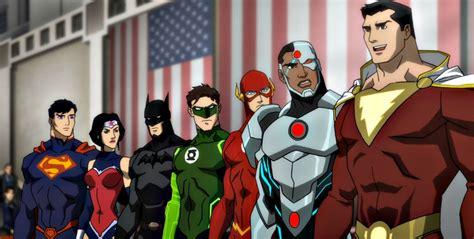 justice league animated film justice league animated films review justice league war