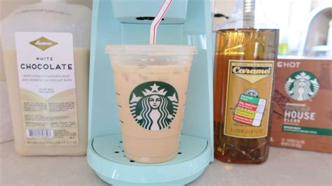 starbucks at home iced caramel white mocha recipe