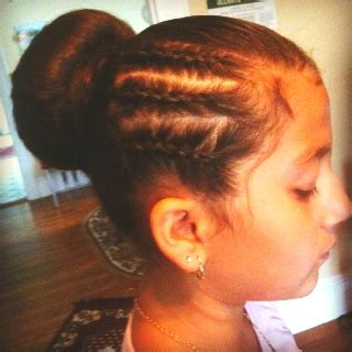 corn roll hair style corn rolls braided styles pinterest