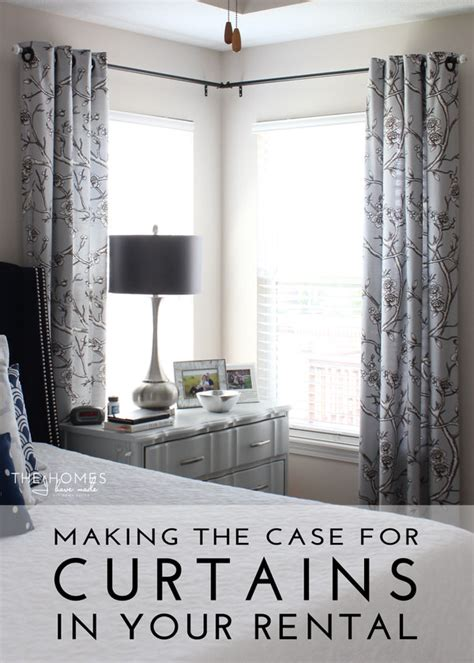 Making the case for hanging curtains in your rental the homes i have made