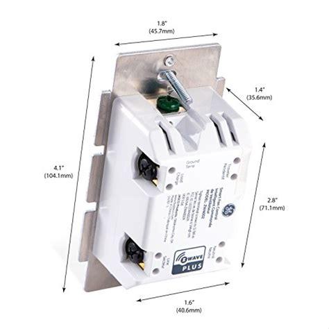 ge smart fan control ge z wave plus smart fan speed control 3 speed in wall
