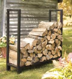 heavy duty adjustable log rack wood handling tools