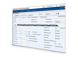 jd edwards enterpriseone project management applications
