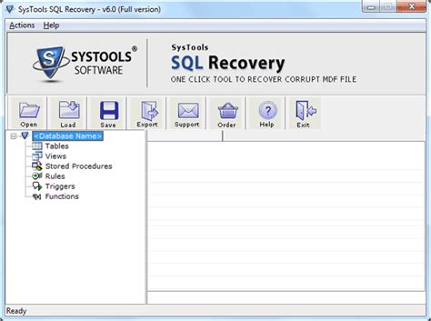 Repair Sql Mdf Files Section Explain You The Procedure Of