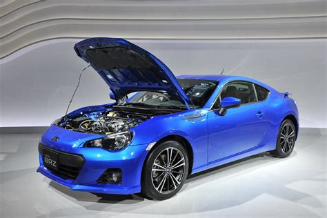 subaru turbo subaru brz joins its toyota sibling at the tokyo motor