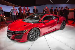Acura Nsx 2015 For Sale 2016 Acura Nsx Shows Its Fierce New 550 Hp In Detroit