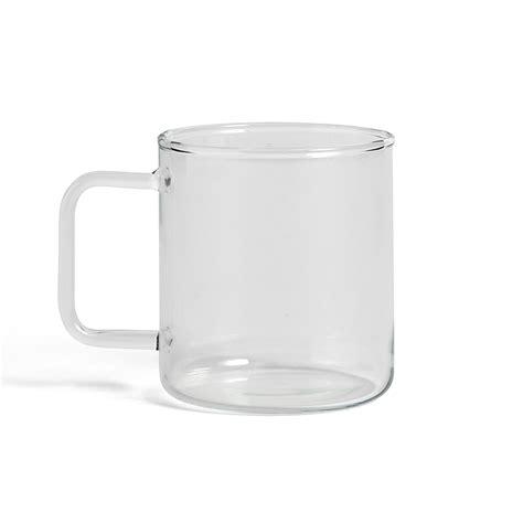 hay design mug hay glass coffee mug hay designdelicatessen aps