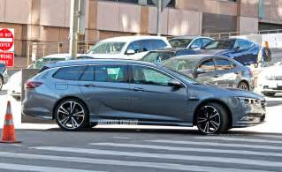Opel Insignia Coupe Next Buick Regal Previewed By Camo Less Opel Insignia
