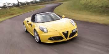 Alfa Romeo Alfa Romeo 2016 Alfa Romeo 4c Spider Review Caradvice