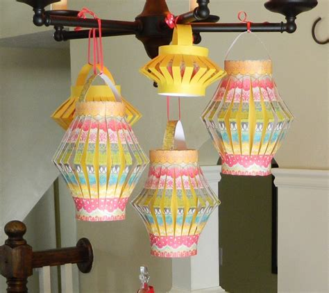How To Make Lanterns From Paper - how to make paper lanterns jam