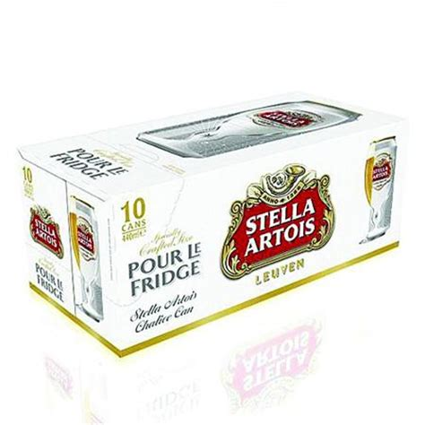 stella artois beer  ml pack   dial  delivery