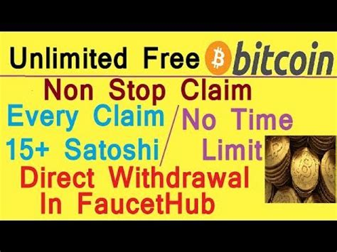download mp3 from youtube no time limit unlimited free bitcoin every claim 15 satoshi no time
