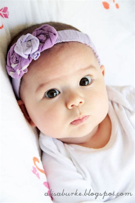 headbands for baby 10 ways to upcycle baby clothes tip junkie