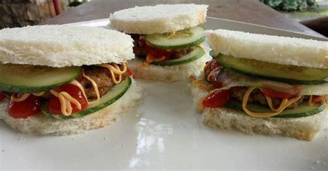 Daging Burger Sapi Burger Uk8cm Patty Burger cara membuat hamburger sederhana 373 resep cookpad