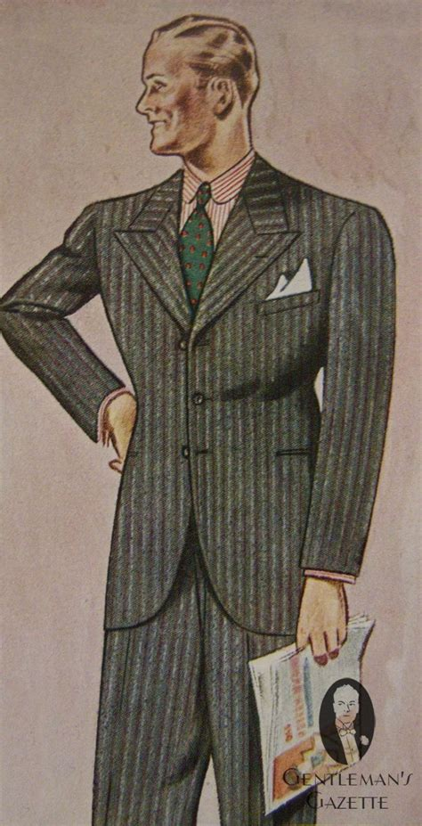 A Popular Style Of 1930s Suit | 158 best images about mens 1930 s fashion on pinterest