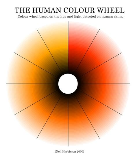 color wheel light neil harbisson on being a colorblind student
