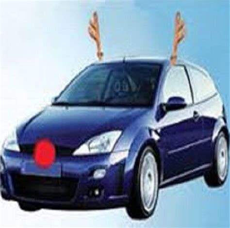 popular reindeer car antlers buy cheap reindeer car