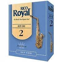 royal alto saxophone reeds size 2 1 2 pack of 3