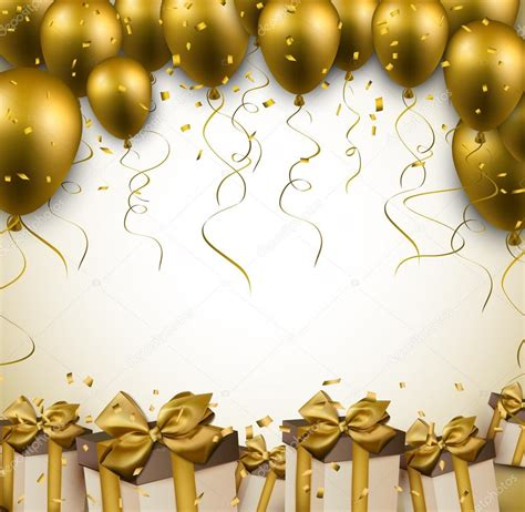 Celebrate background with balloons stock vector 169 maxborovkov 46707431