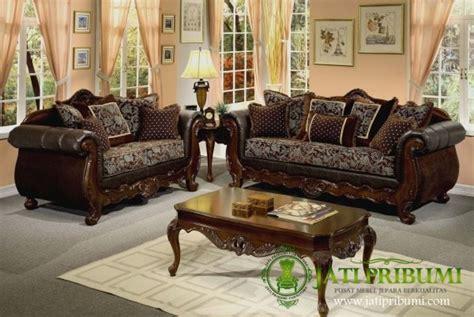 Kursi Untuk Ruang Tamu Kecil sofa kursi tamu classic jati pribumi