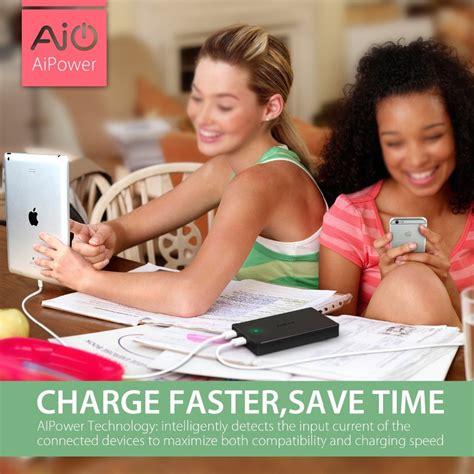 Aukey Powerbank Quallcomm Charge 30 20000mah Pb Berkualitas aukey qualcomm certified 20000 mah charge powerbank