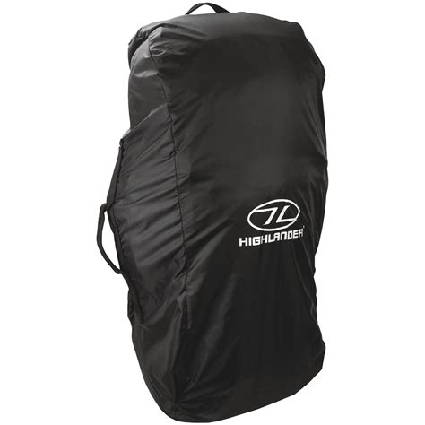 Jws Cover Bag 80 Liter highlander 80 100l combo backpack cover waterproof travel luggage bag black 5034358030988