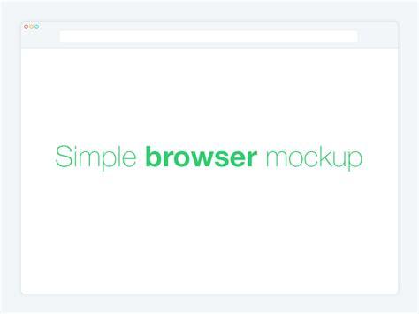 flat design browser mockup free minimal flat web browser mockup psd titanui