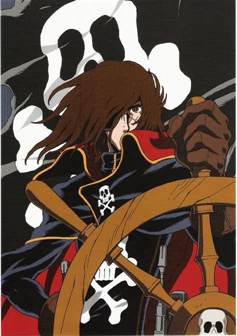 captain harlock captain harlock anime