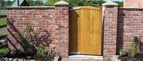 Pmb Landscapes In Whitchurch Home Garden Construction Work Garden Walls And Gates
