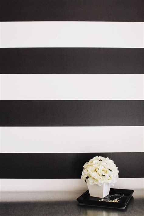 black and white striped wall stripes stripe walls powder and stripe accent walls