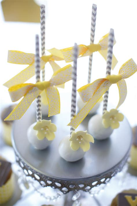 Yellow And White Baby Shower Ideas by Kara S Ideas Yellow Gray Alphabet Baby Shower