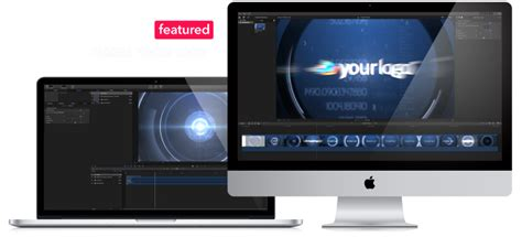 Logo Animations For Final Cut Pro X Template Cut Pro