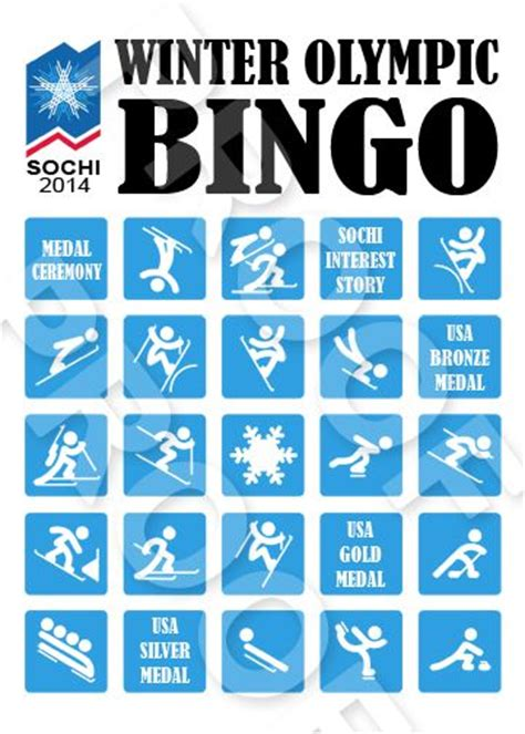winter bingo card template 17 best images about my printables on