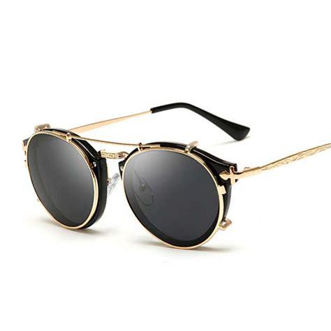 round clip round clip on sunglasses top sunglasses
