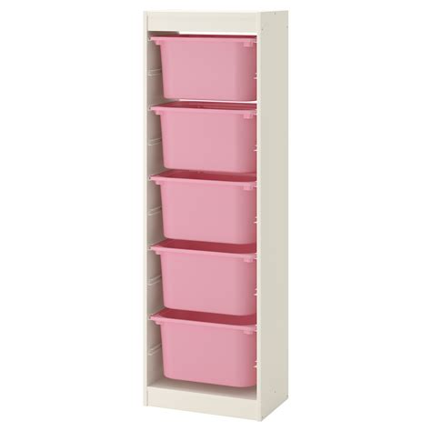 www ikea usa com trofast storage combination with boxes white pink