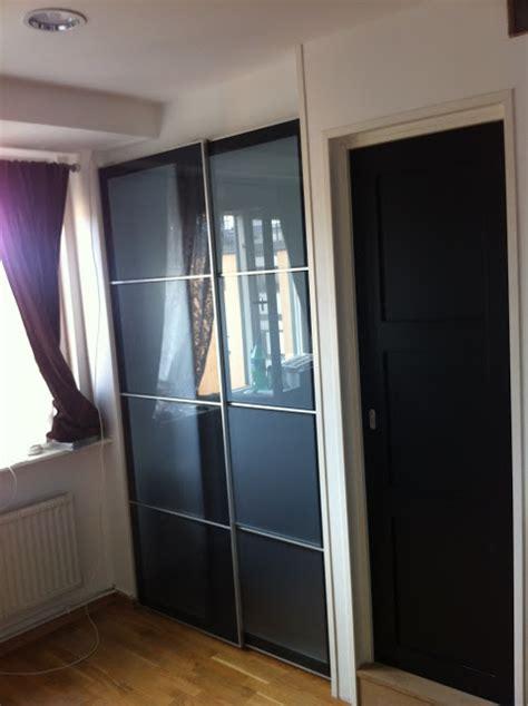ikea sliding closet door ikea sliding door for sleeping alcove tight spaces ikea hackers