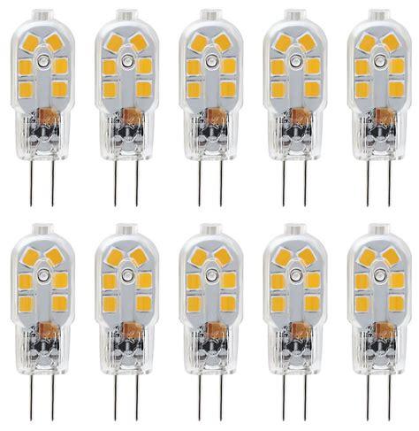 kingso g4 led bulb 10 pack bi pin base