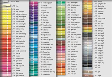 Faber Castell Polychromos 60 Colors faber castell polychromos color chart search colouring inspiration